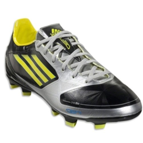 Nuovo Adidas F30 Trx Fg nero Mens 6.5 Black/Lab Lime/Metallic Silver