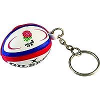 Gilbert Unisex England Rugby Ball Schlüsselanhänger, Mehrfarbig, One Size