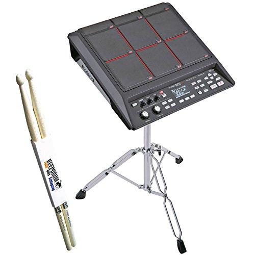 Roland SPD SX sampling Pad + PDS di 10treppiede + Keep Drum Drum Sticks