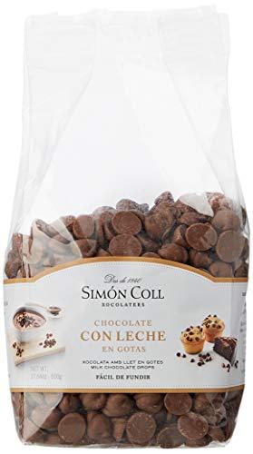 Simón Coll - Gotas chocolate leche - 500