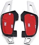 Overdrive-Racing Dsg Schaltwippen Alu Verlängerung Silber Golf 7 Aluminium Golf 7 GTD GTI r Scirocco Facelift 2 Stück