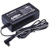 Pixtic - Adaptateur secteur AC-PW10AW pour appareil photo numérique SONY Alpha 100 200 230 290 300 330 350 380 390 450 500 550 560 580 700 900