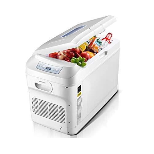 DLINMEI 28L Doppelkühlwagen Kühlschrank mit Digitalanzeige Mini Kühlschrank Car Home Dual-Use-Heiz-und Kühlbox 12v24v Truck Special Kühlschrank -