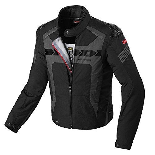 Spidi WARRIOR Glance H2OUT Lady wasserdicht Textile Sportliche Motorrad Jacke–schwarz