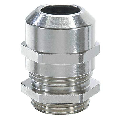 5x 9 Stueck Kunststoff Wasserdichter Steckverbinder Kabelverschraubungen M20 x Q