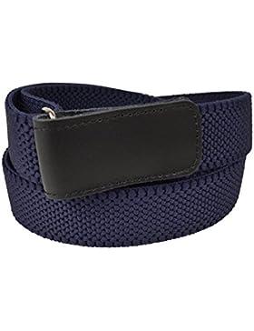Olata Cinturón Elástico para Hombres 3cm con Hook y Loop Fijación, totalmente ajustable