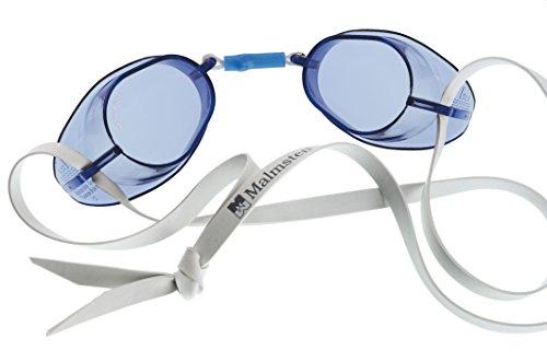 Beco Schwedenbrille Standard Schwimmbrille, Blau, One Size