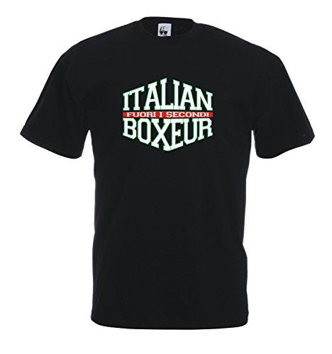 Settantallora Herren T-Shirt schwarz schwarz Schwarz