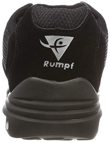 RUMPF Scooter Sneaker geteilte Sohle schwarz - 2