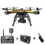 Qinyin Hubsan X4 PRO H109S Professionelle GPS RC Drone Brushless 5,8g 7CH Quadcopter FPV 1080 p HD Kamera RC Hubschrauber (einschließlich Kamera)