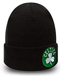 A NEW ERA Gorro Beanie Cuff Knit Team Essential Boston Celtics Negro 9cc18977121
