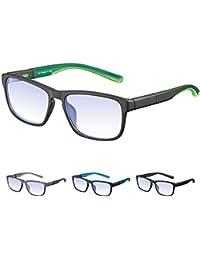 Rezi Gafas de ordenador Gafas Lectura para Protección contra Luz Azul - Alta Protección para Pantalla