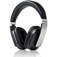 aLLreLi F5 Bluetooth Kopfhörer Over-Ear mit aptX Technologie und Integriertem Mikrofon Schwarz
