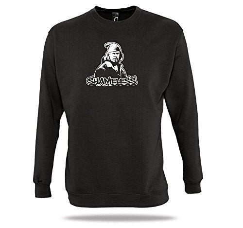 Shirtcharts Shameless Pullover Leuchtshirt Shameless Staffel Frank Gallagher Sweater (Schamlose Tv-serie)