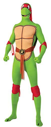Raphael Teenage Mutant Ninja Turtles Kostüm für Herren, (Turtle Kostüm Mutant Teenage Ninja)