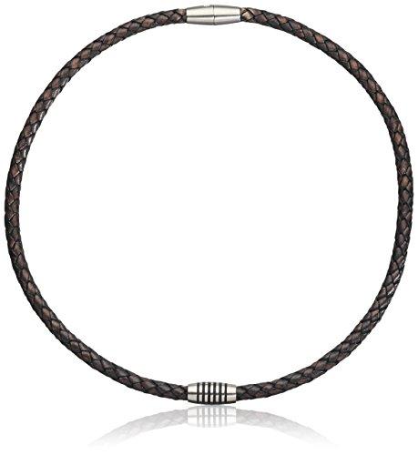 Boccia Damen Halskette Titan Leder 50.0 cm 0843-0450