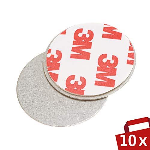 Magnet Befestigung für Rauchmelder 10er Set – Für einfache und sichere Montage ohne Bohren –...