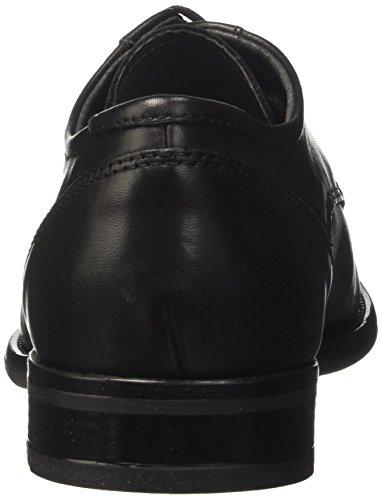 BATA 824361, Scarpe Stringate Derby Uomo Nero