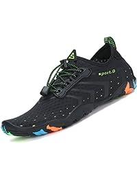 katliu Chaussures Aquatiques Chaussures d'eau de Plage Water Shoes pour Piscine Surfer Yoga Homme Femme