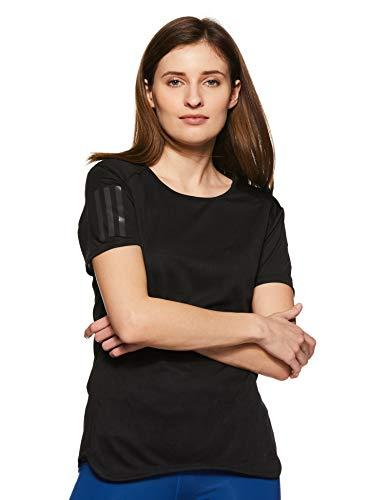 adidas Damen RS SS TEE W Kurzarm T-shirt, Schwarz (Black), L