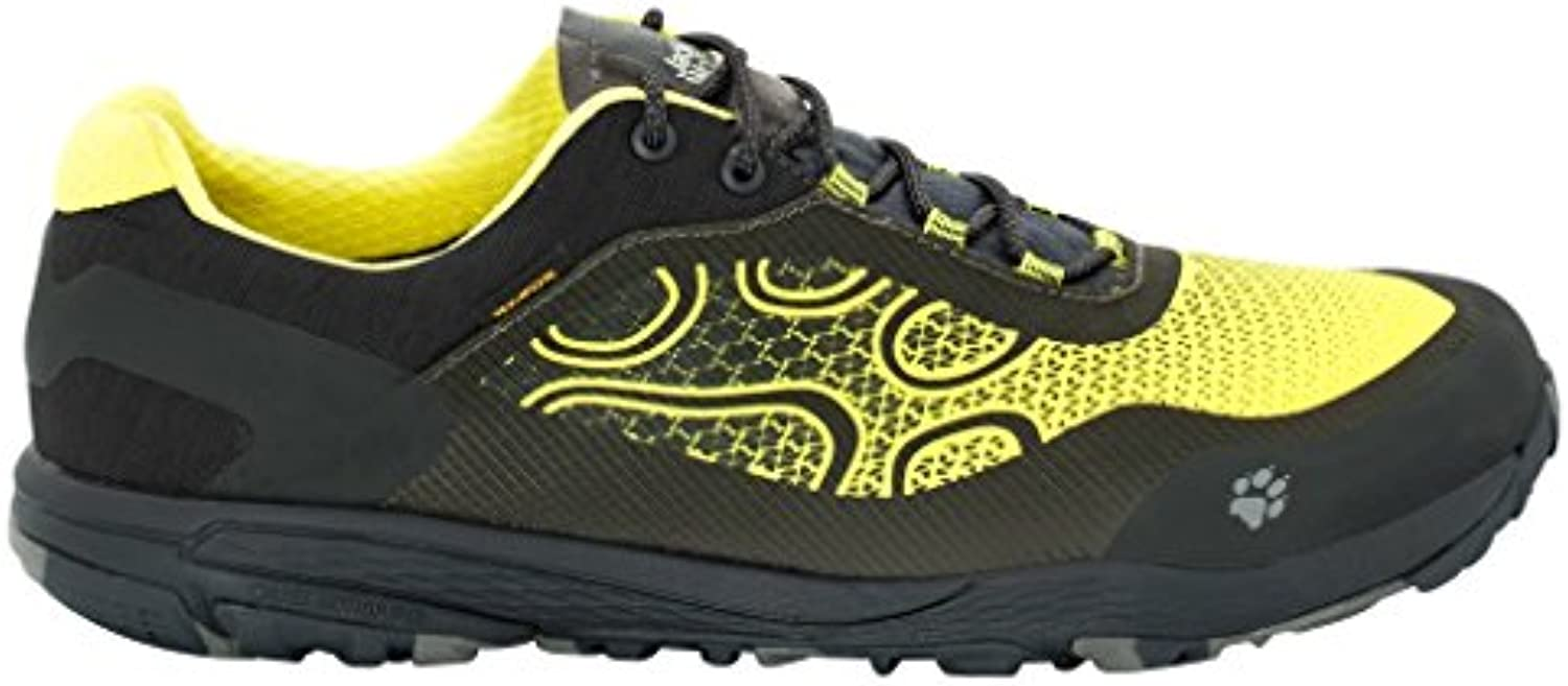 Jack Wolfskin – Zapatos Cross Trail Texapore Low M, hombre, 4024141-4088, flashing green, 8