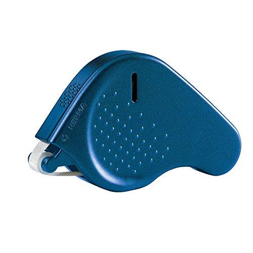 Preisvergleich Produktbild Herma 1013 Klebespender Transfer permanent fest haftend (Klebespur 15 m x 9mm, Kleberoller nachfüllbar) blau, 1 Stück