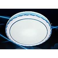 CLG-FLY lampada da soffitto Led corpo sensore smart corridoio di luce del corridoio scala portico di ingresso audio a raggi infrarossi e un controllo della luce lampada 41*11.5cm (sound control),tromba