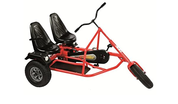 DINO Side Car ZF (5 years +) TWO SEATER PEDAL GO KART: Amazon.co.uk ...