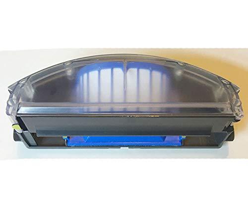 Simuke - Cubo de basura gris para Roomba iRobot serie 500/600 527e 529 595 610 620 650