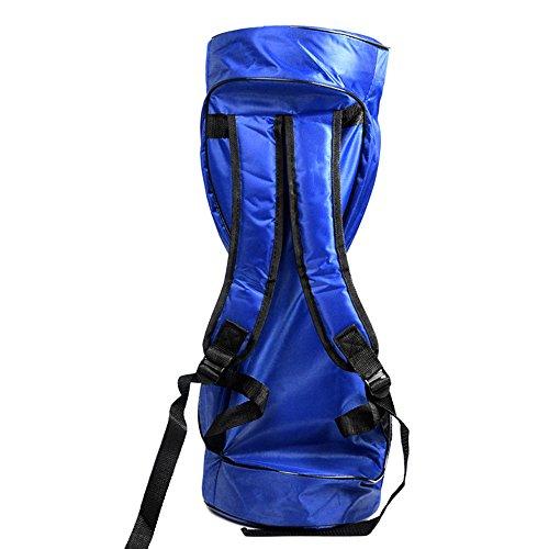 6,5 Zoll Hoverboard Schultertasche Wasserdicht mit Netztasche und verstellbare Schultergurt Rucksack Tasche Elektro Scooter Schutztasche E-Roller Tragetasche (ohne Hoverboard)