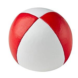 Henrys j05010 B12 - Bolsas de Frijol de Primera Calidad, diámetro 67 mm, Blanco / Rojo