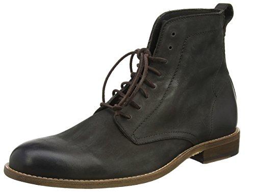 Boss Orange Herren Varadero_Halb_lt Combat Boots, Grau (Dark Grey), 44 EU