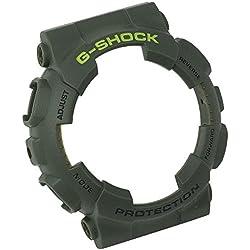 Casio G-Shock protección lünette Bezel grün mit Grüner Schrift für GLS-100