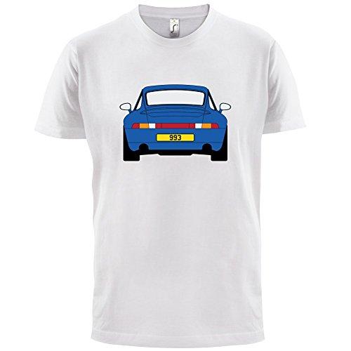 Porsche 993 Blau - Herren T-Shirt - 13 Farben Weiß