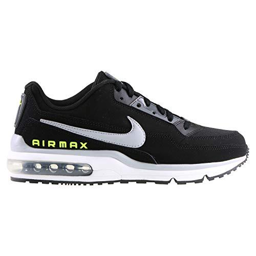 Nike Herren AIR MAX LTD 3 Traillaufschuhe, Mehrfarbig (Black/Wolf Grey-Volt-Dark Grey 001), 44 EU