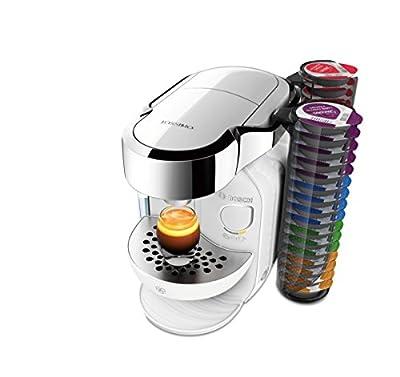Bosch TASSIMO Caddy TAS7002GB Coffee Machine, 1300 W, 1.2 Litres, Majestic White from Bosch