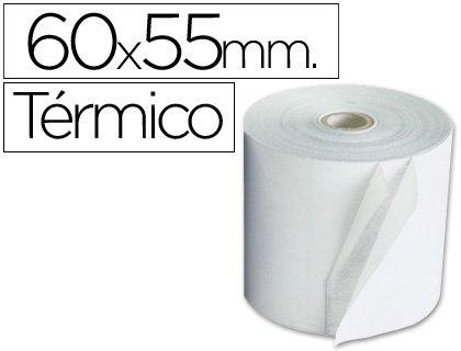 Sin Marca - Rollo sumadora termico 60 mm ancho x 55