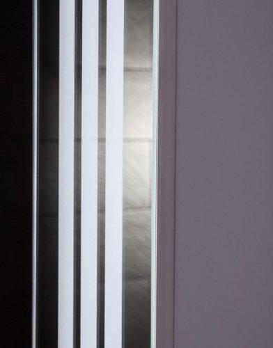 Holzspiegelschrank – Spiegelschrank von Galdem LOFT60 weiß - 3