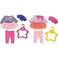 Zapf Baby Born Fashion Collection Juego de ropita para muñeca - Accesorios para muñecas (Juego de ropita para muñeca, 3 año(s),, 43 cm, Chica, 43 cm)