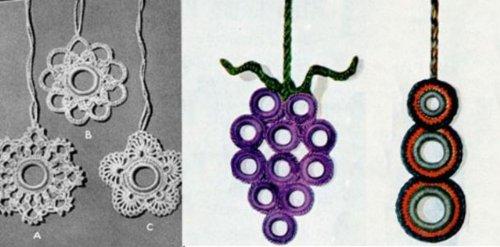 Más patrones de Crochet para tira de cortina por Unknown