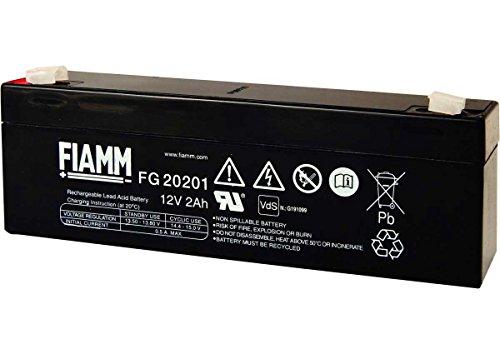 Fiamm - Batteria AGM Piombo FG20201 12V 2Ah