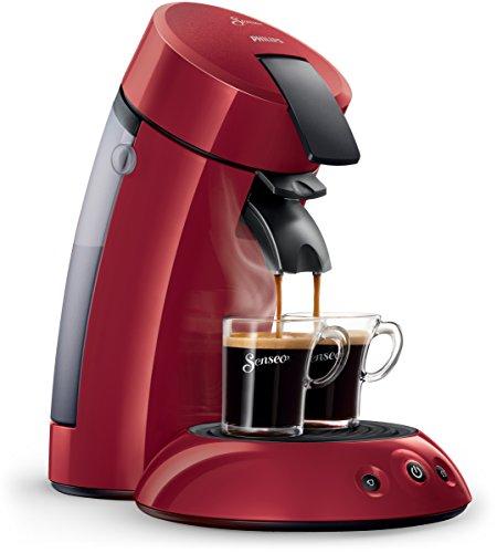 Senseo HD7817/99 Original Kaffeepadmaschine (1 - 2 Tassen gleichzeitig) rot