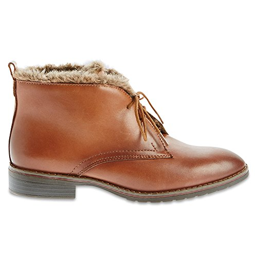 Marks & Spencer FOOTGLOVE™ T028574 Leather Block Heel Faux Fur Ankle Boots...
