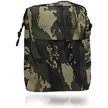 treend24 Hombre Bolso de hombro para simple plano con 3 compartimentos  camuflaje Outdoor Tiempo Libre Deporte 1fa1166b5cf