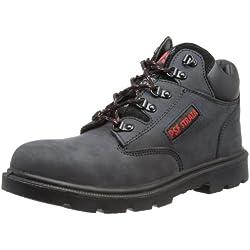 PSF - Safety, Botas Chukka Hombre, Negro (Gey/Black), 45 EU