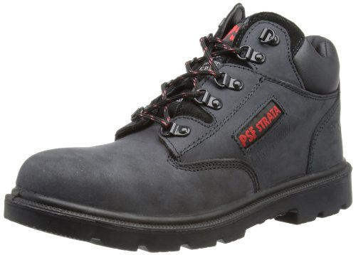 PSF Herren Safety Chukka Boots, Gey/Black, 45 EU Safety Chukka Boot