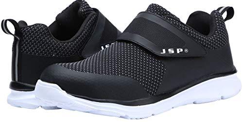 LARNMERN Sicherheitsschuhe Damen Stahlkappe Atmungsaktiv Arbeitsschuhe Ultraleicht Sportlich,JSP