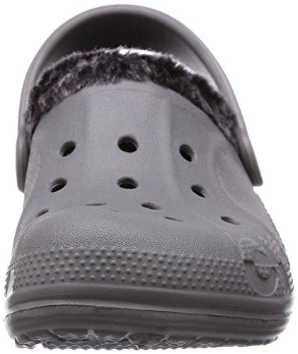 Crocs Baya Heathered Lined Clog Smoke/Black