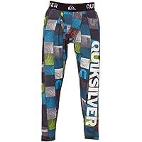 Quiksilver Duty Free - Pantalón interior térmico para niño, color azul, talla FR : 12 ans (Taille Fabricant : 12)