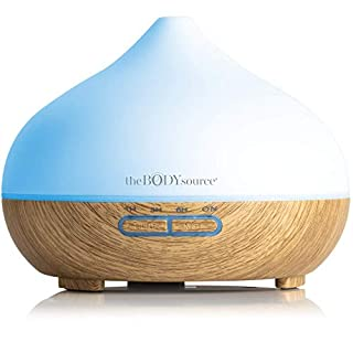 The Body Source® Aroma Diffuser for Essential Oils with 7 Colour LED Lights (300ml)